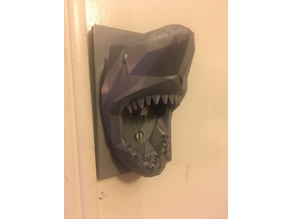 Poly Shark Light Switch