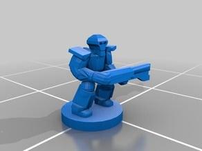 Epic Scale - Undead Robots - Generalist Infantry