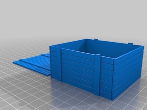 """My Customized Parametric Crate (3.75"""" scale)"""