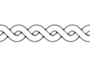 dual stripe texture roller