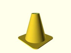 Cono de obra / Traffic cone