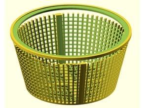Poll Skimmer Basket (customisable)