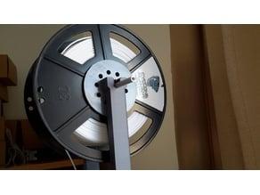 Cyclone filament spool bearing