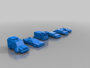 Robotech UEG Domestic Vehciles 2
