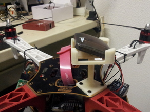 GPS mount for quadcopter flamewheel F450