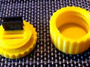 Mini Micro SD Card Rounded Box