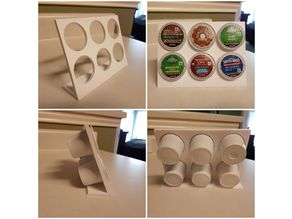 Keurig K-Cup Stand (Small Printer)
