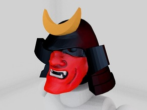 Modio Part: Samurai Head