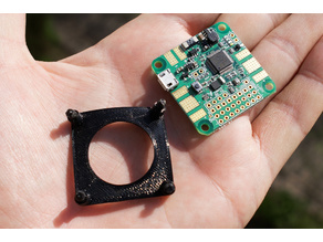 Flight controller softmount (TPU vibration isolation)