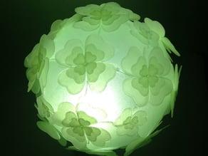 Deltoidal Icositetrahedron Puzzle Lamp Shade - Clover