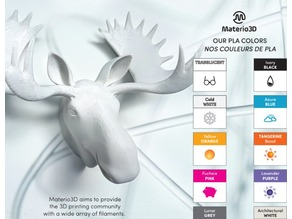 Moose Head for Materio3D