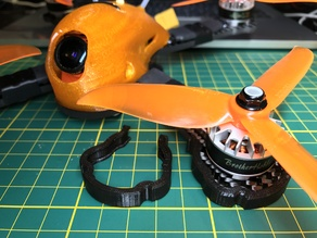 Clip-on SpaceOne FPV 220x arm guards