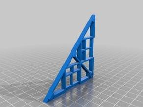 Tilescape™ 3x3 TRIANGLE/ANGULAR FRAME
