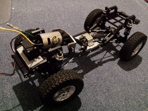 RC Jeep JK Chassis complete scale RC Car kit 1/10
