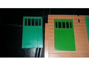 Playmobil 1976 Western Sheriff Office jail window (3423)