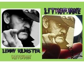LITOFANIA LLAVERO  Lemmy Kilmister