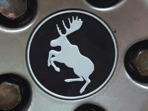 Volvo Prancing Moose Wheel Hub Center Cap