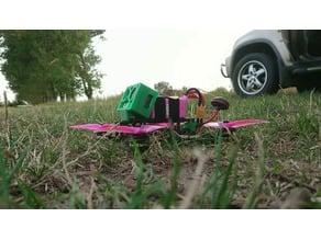 protecive Action Cam Mount 35 deg for Freestyle FPV Frame
