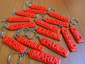 Keychains - Llaveros