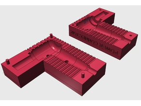 "Press mold for notebook power connector Ø4.8 mm like ""Г"""