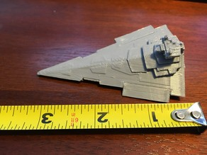 Victory-I class Star Destroyer w/ closed air foils