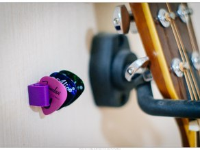 Guitar Picks Holder (Wall Mount)