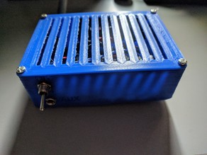 Box for 2x TPA3118 amplifiers