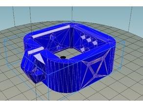 NEMA-17 motor hanger