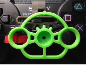PlayStation 3 controller mini wheel