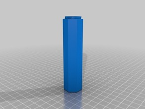 Pen Container Base 100mm Poly