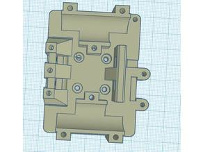 HyperCube X carrier with belt tensioner