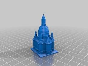Dresden Frauenkirche -  Church of our Lady - 3D Scan