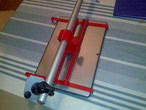 """Rack for Tobii EyeX and 12"""" Chuwi tablet"""