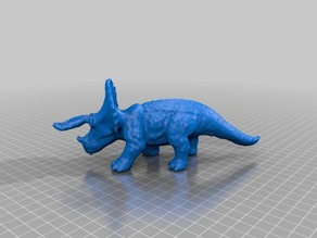 Triceratops scanned with multiscan