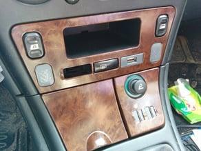 Citroën Xsara II - USB Holder + Dummy button + Window regulator dummy button