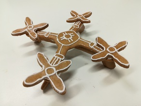 QuadroCopter Drone cookie cutter 01