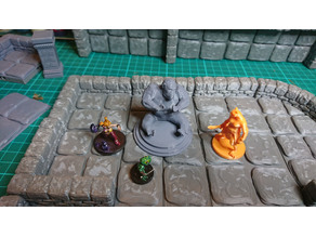 D&D Scenery: Monkey Statue for Tomb of Annihilation