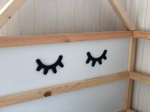 Sleepy Eyes - Nordic Style bedroom kids/children