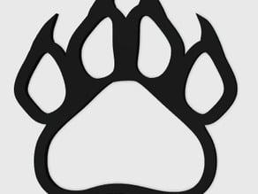 Panther Paw Pendant