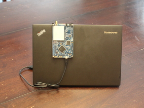 HackRF Laptop Clip