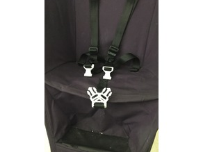 3 point buckle Quinny Yezz Stroller