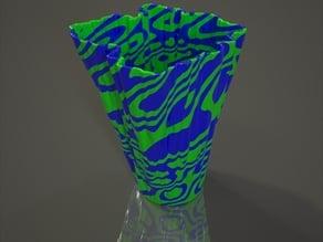 Rorschach Plasma Vase