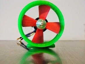 Parametric ROV thruster propeller