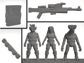 Sculptris Dummies: Star Wars Alien Rebels