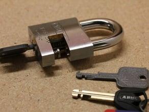 Duplicating Disc Detainer Keys