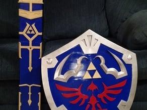 Zelda Master Sword v2 Scabbard