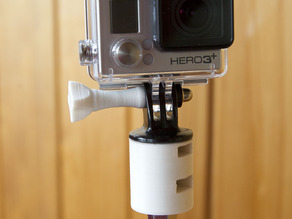 Remix of (almost) fully printed GoPro steady cam