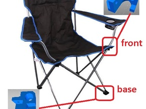 Camping Chair Front & Base