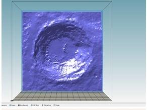 Aristarchus  Moon Crater close-up HD