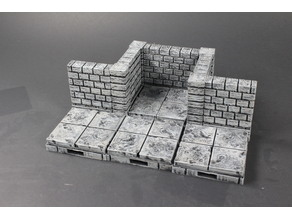 OpenLOCK Cut-Stone Walls with side clips